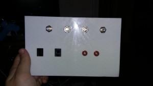 DAQ front panel
